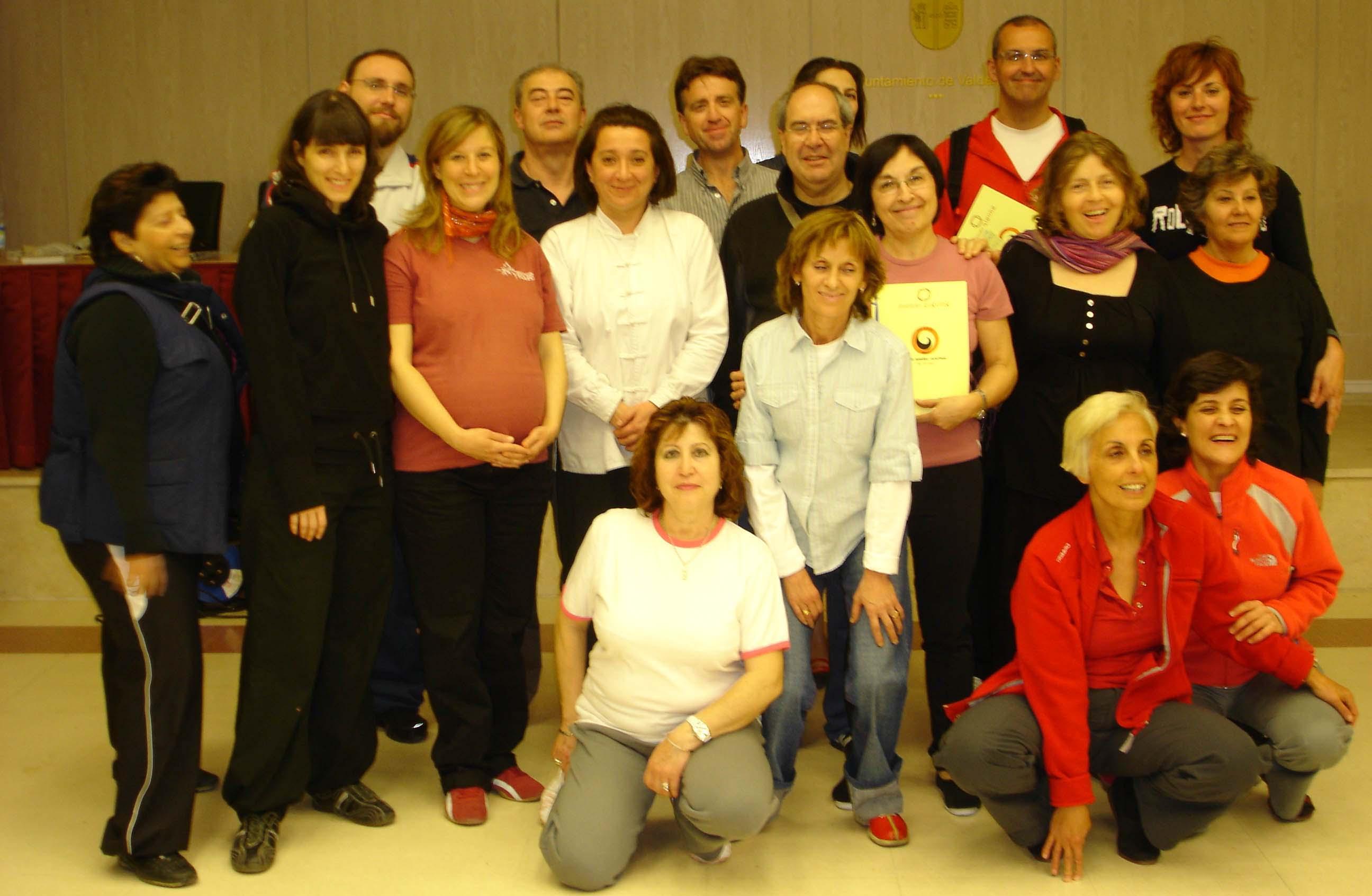 Conferencia + Taller de Qigong Estático y Dinámico para los Amigos del Taichi de Valdemoro, Madrid
