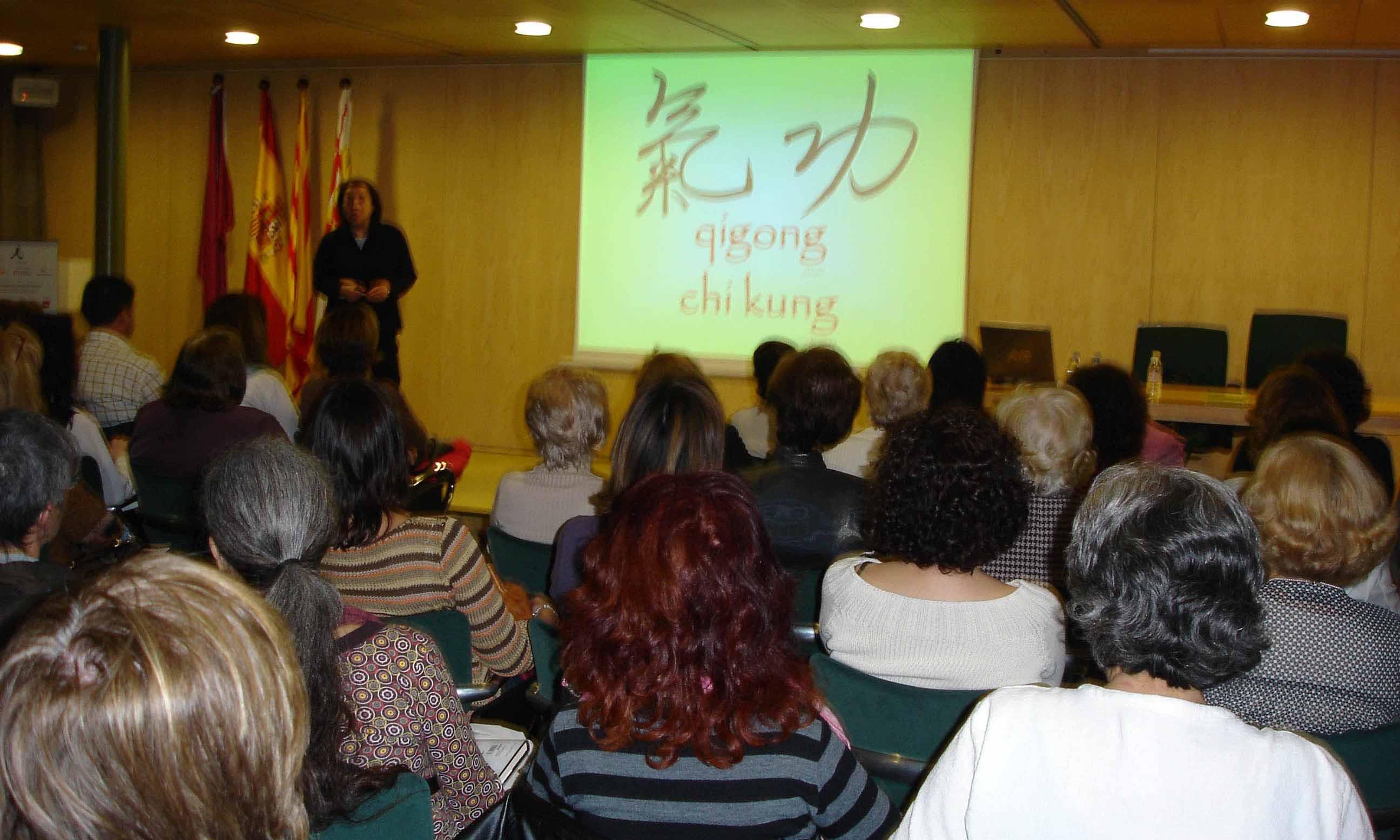 Conferencia + Taller de Qigong Estático: Los 6 sonidos curativos, Sede Casa Asia