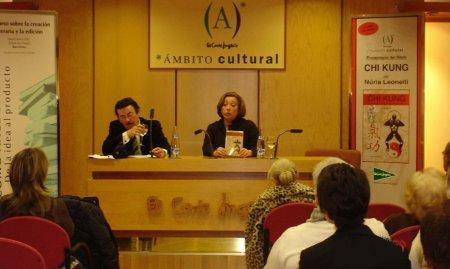 Presentación del Libro de Chi Kung en El Corte Inglés