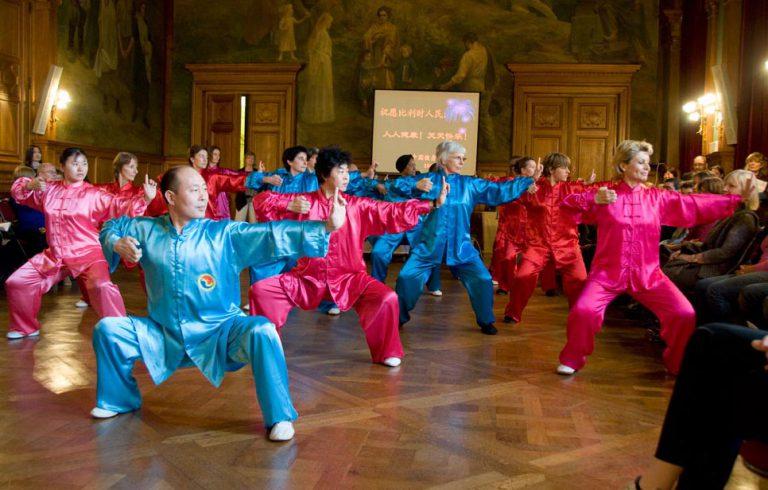 El Instituto Qigong participa en el encuentro Internacional Belgica · China organizado por la Chinese Health Qigong Association