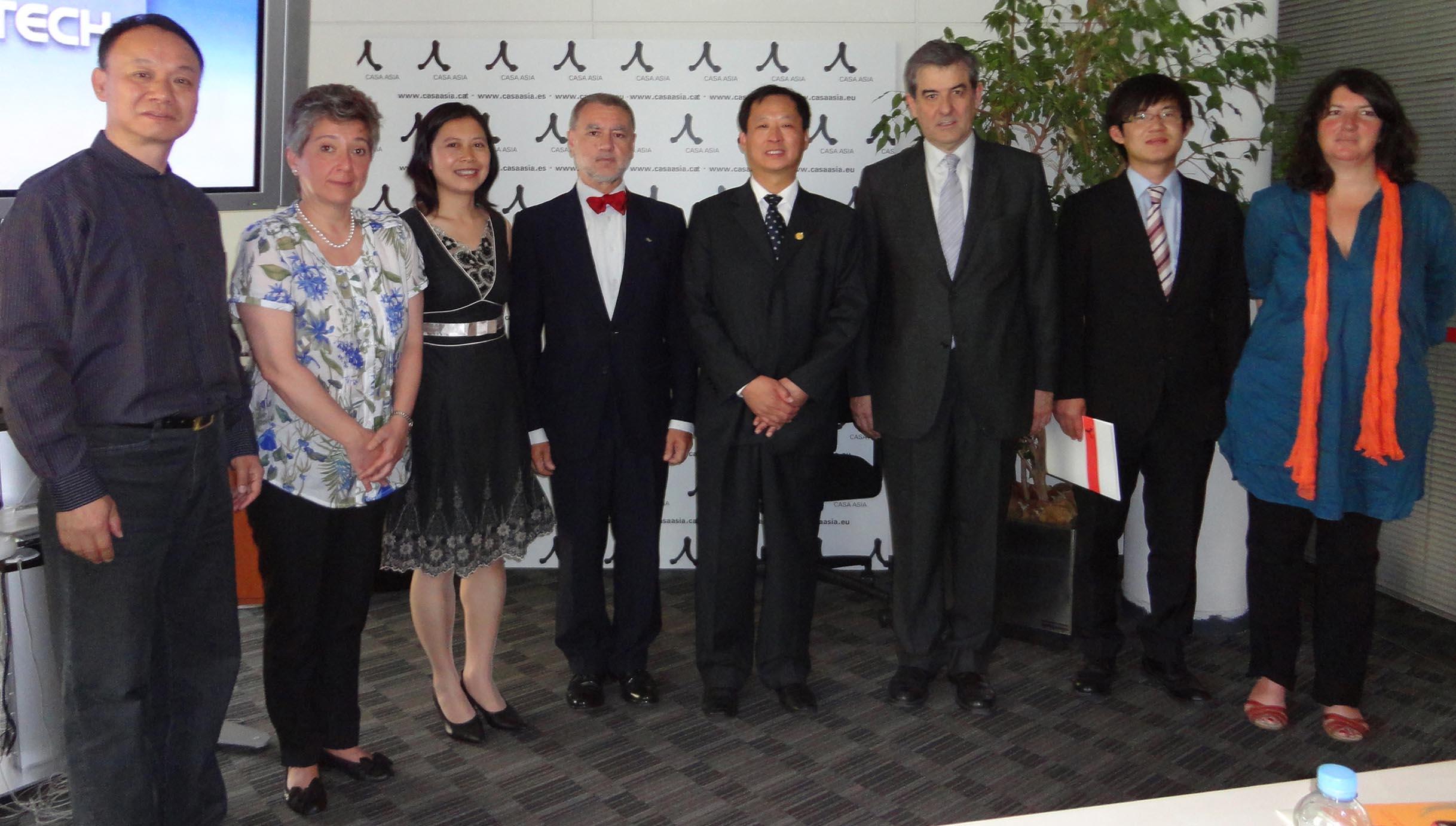 Recepción y Acogida a la Delegación de la Chinese Health Qigong Association