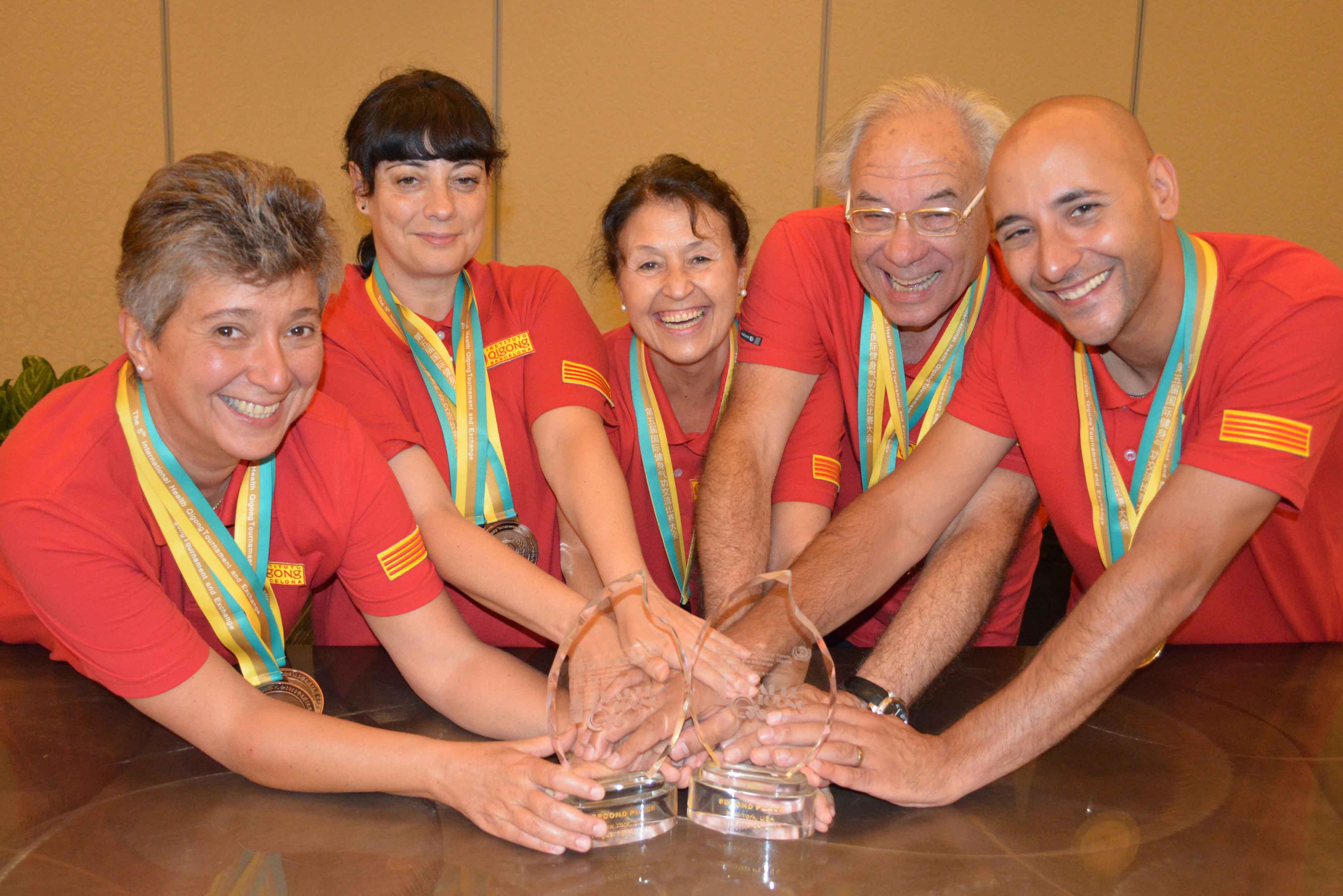 Equipo Instituto Qigong: ¡Campeón del Mundo!!!