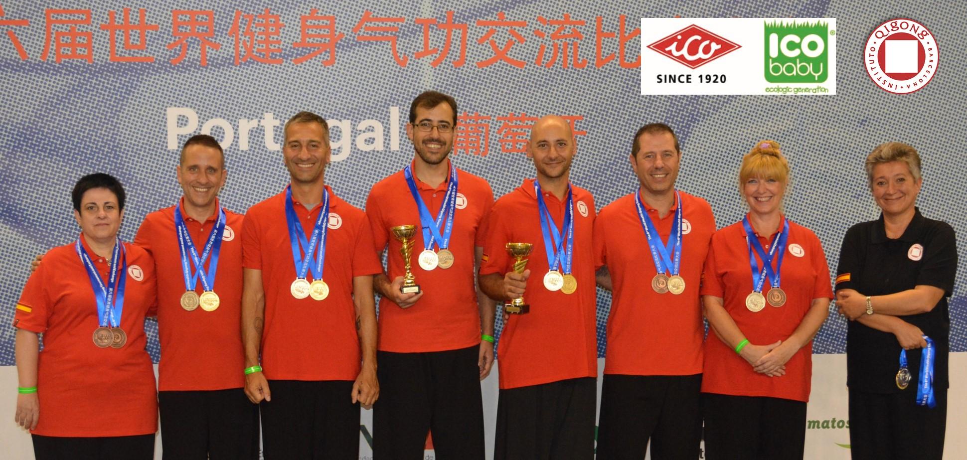 Equipo ICO BABY / Instituto Qigong Barcelona Campeón del Mundo!
