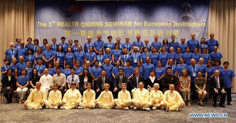 1º Seminario de Health Qigong para Instructores Europeos, Bruselas