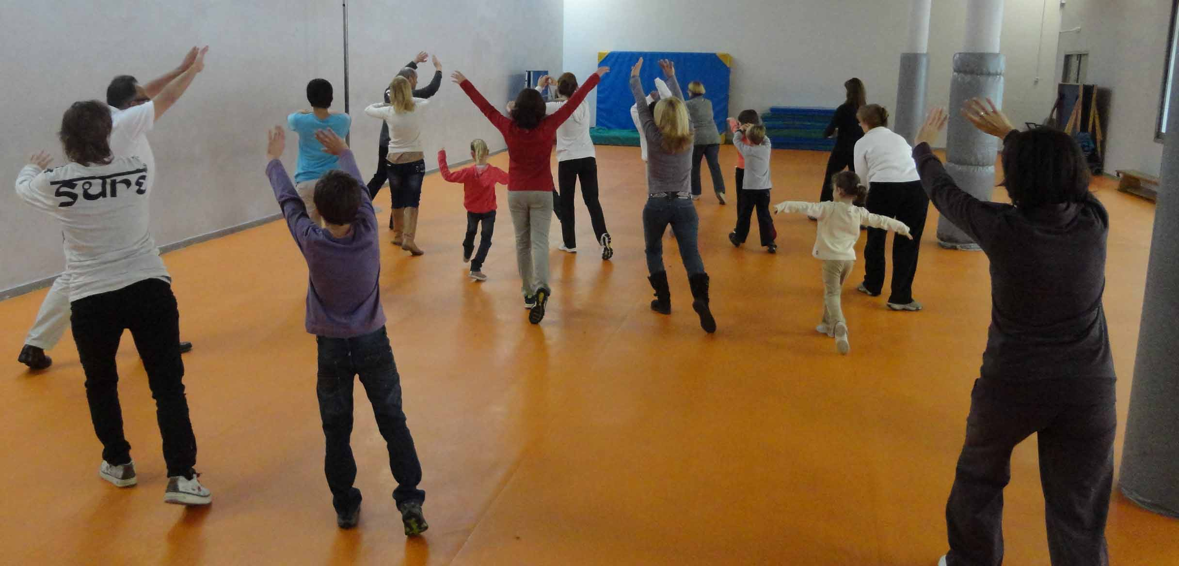 Taller familiar: Health Qigong for Kids