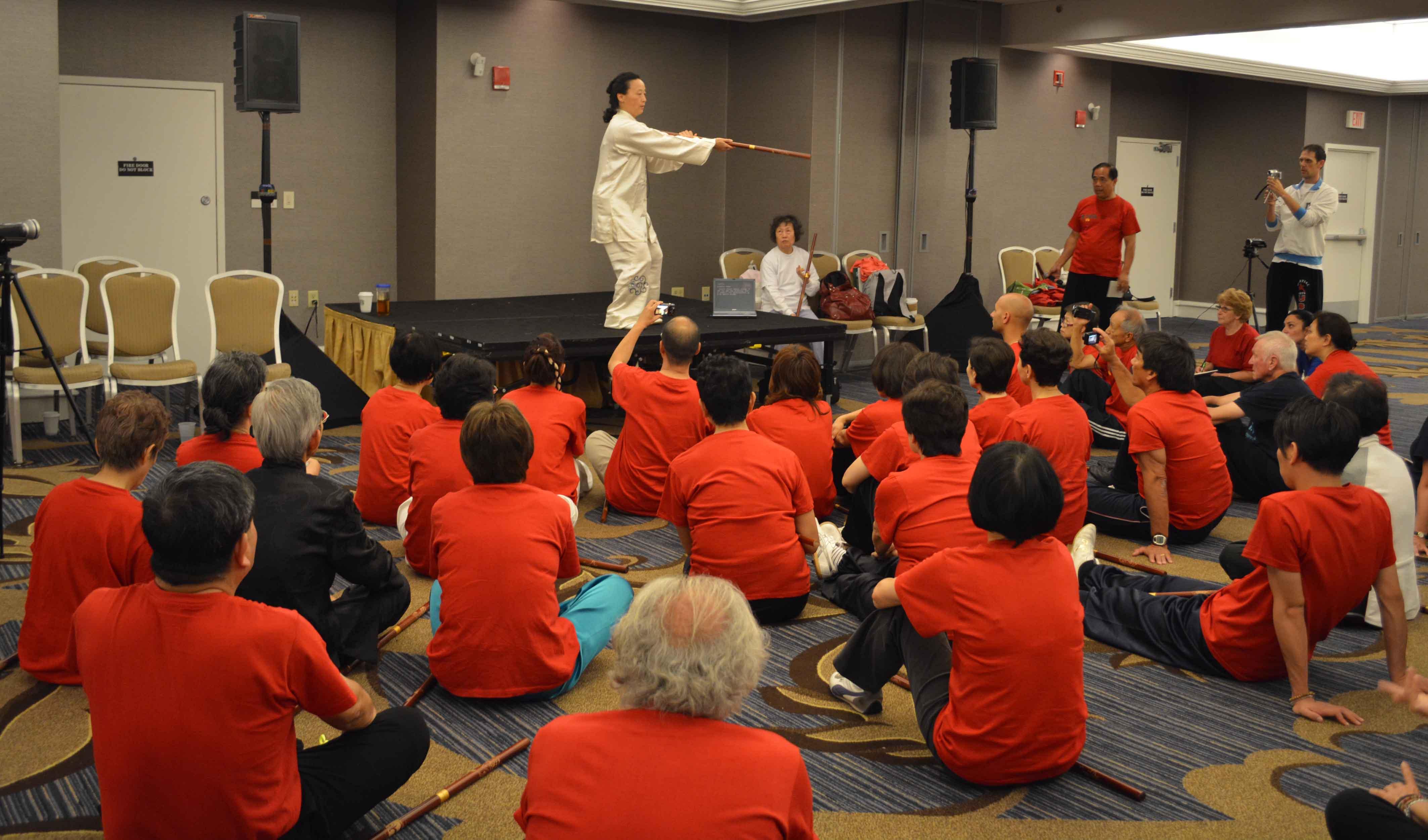 Curso Perfeccionamiento Tecnico Qigong con Bastón