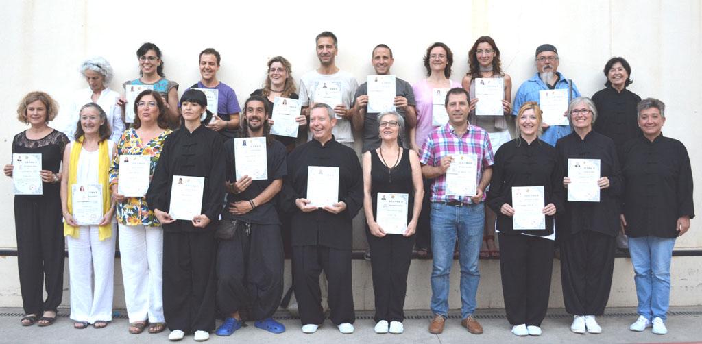 Entrega Certificados 1º y 2º Duan (Nivel Técnico)