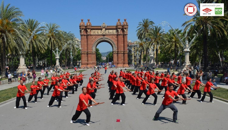 Exhibición Qigong con Bastón: ¡Bravo!!!