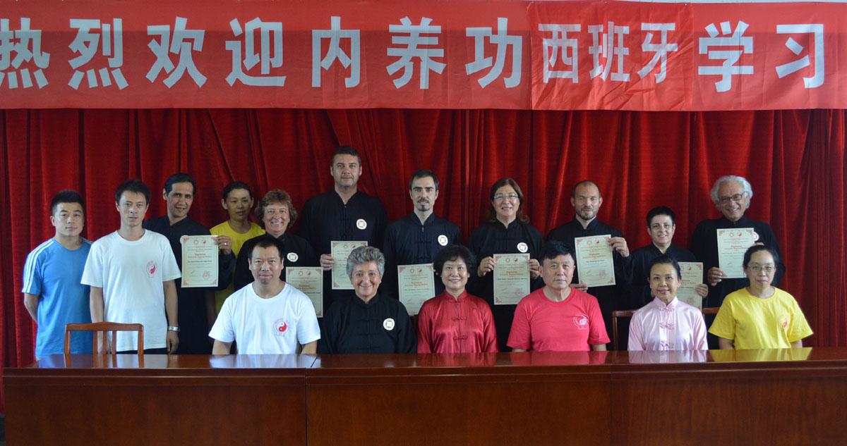 Centro Nacional Formación Qigong Médico, Hebei 2