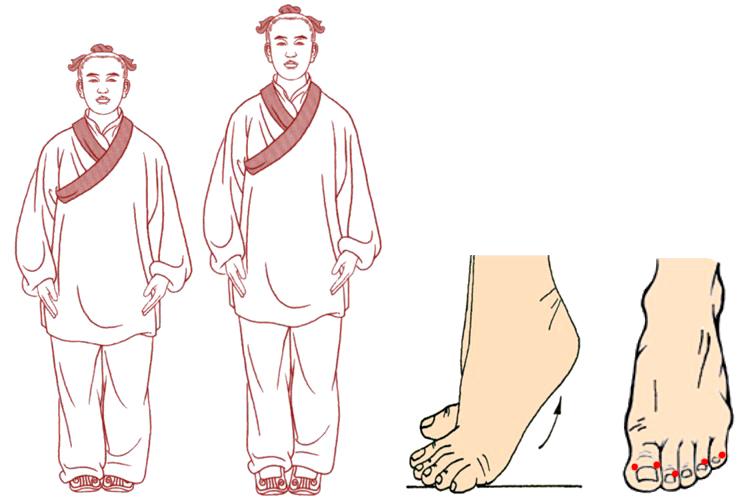 qigong: ejercicio 8 baduanjin