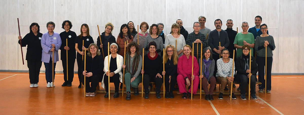 curso trimestral primavera : qigong con bastón