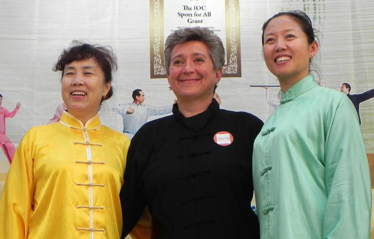 Laoshi Wang Yang y Yu Lingling