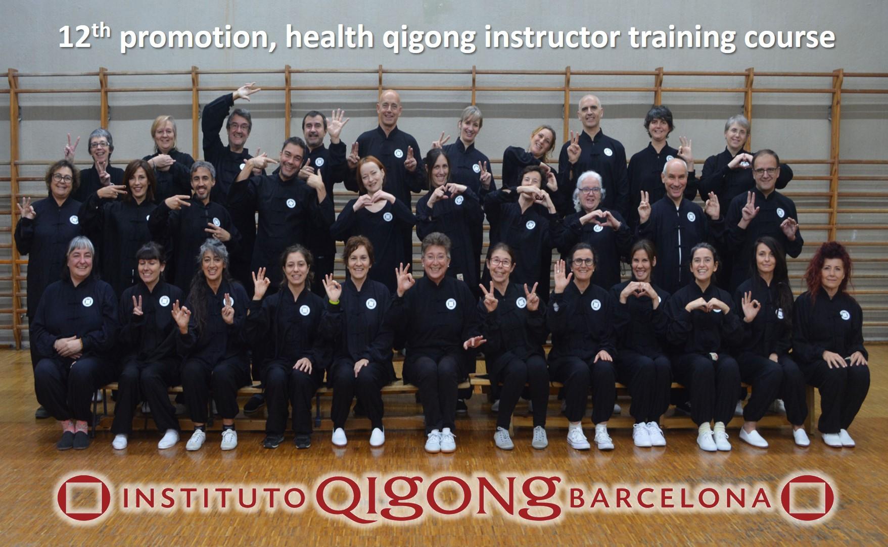 12ª promoción formación qigong